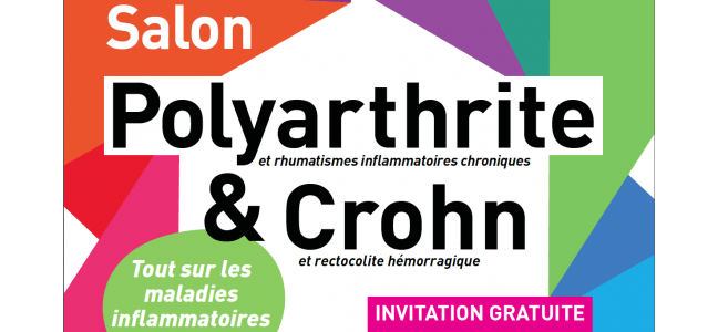 Salon maladie de crohn rectocolite h morragique vivre for Salon polyarthrite